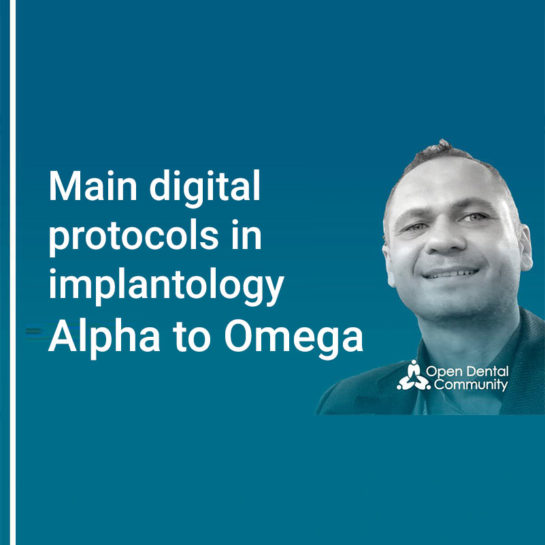 Webinar: Main digital protocols in implantology